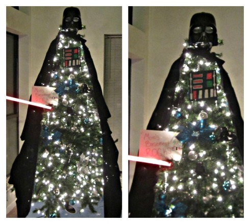 Darth Vader Tree by Holly & Ryan