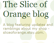 The Slice of Orange blog