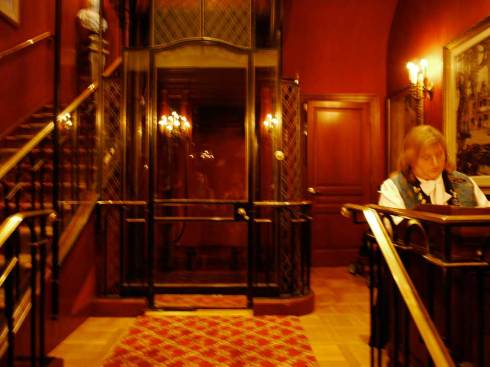 Club 33 Foyer