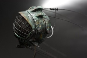Fallout 3 Miniature Eye Bot by DevilsJewel