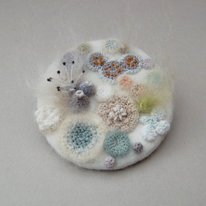 mold brooch