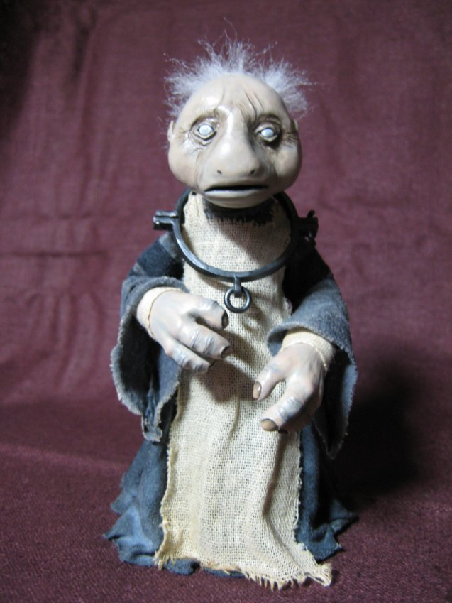 The Dark Crystal Podling Slave Art Doll by TheFurtherShore