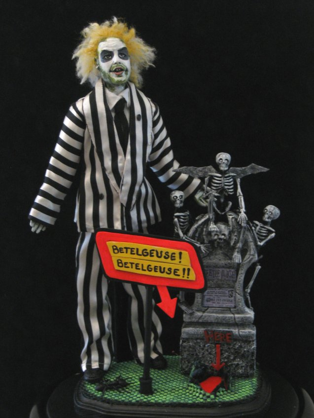 Beetlejuice Art Doll by ArtdollImaginarium