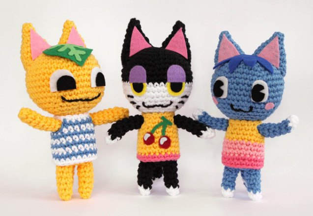 Animal Crossing Cat Crochet Pattern by Liebe9