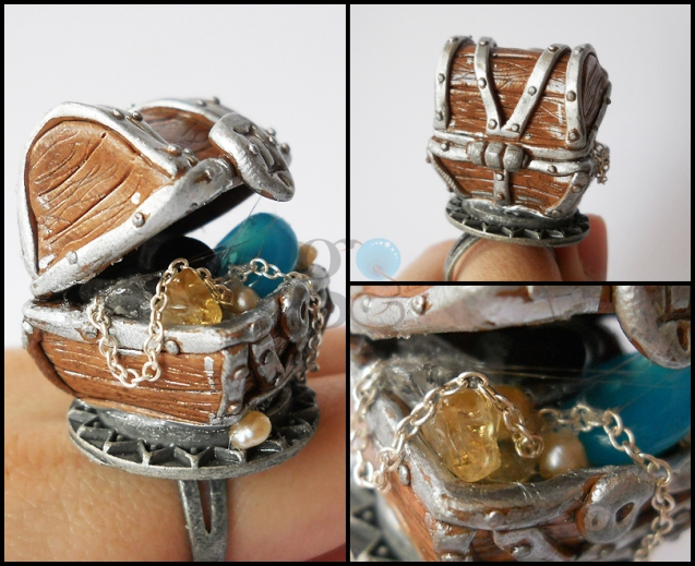 Treasure Chest Ring by GemDeDude