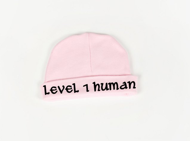Level 1 Human Hat  by geeklingdesigns