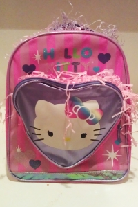 Parenting,Easter,Easter Basket,Hello Kitty,Backpack,Cute