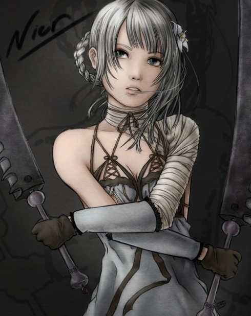 Nier - Kaine by Dice9999