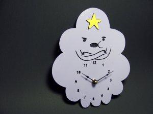 lumpy clock