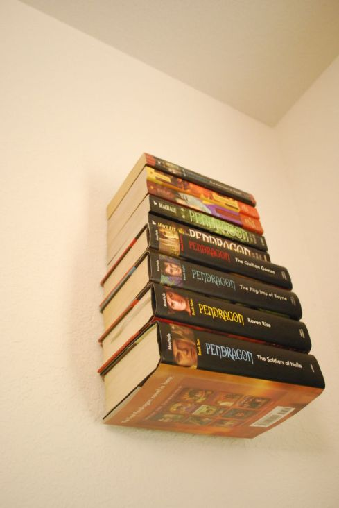 How To Make An Invisible Bookshelf (Without Ruining a Book!) by CaitlynLAG